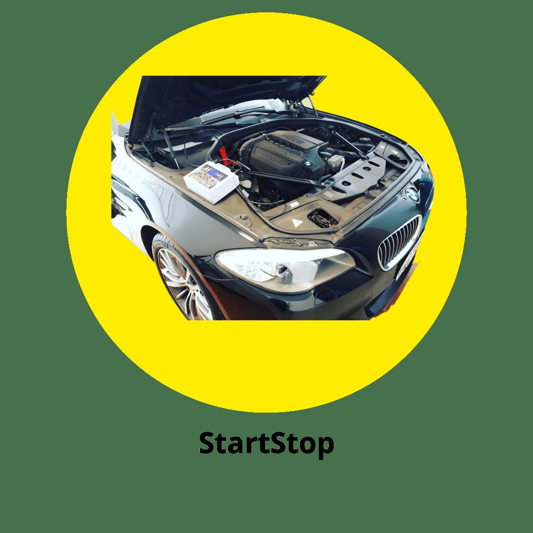 Baterias para carros com Start-Stop